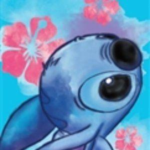 Disney towel ,Floral Stitch Beach Towel 28x58